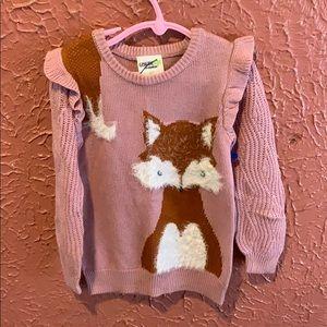 Nwot Oshkosh Fox Sweater